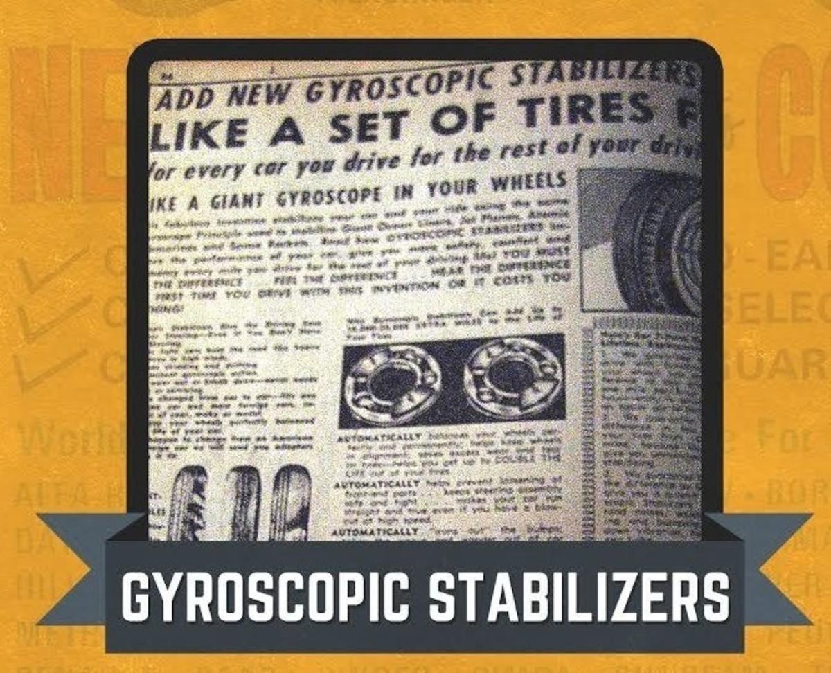 JC Whitney Gyroscopic Stabilizers