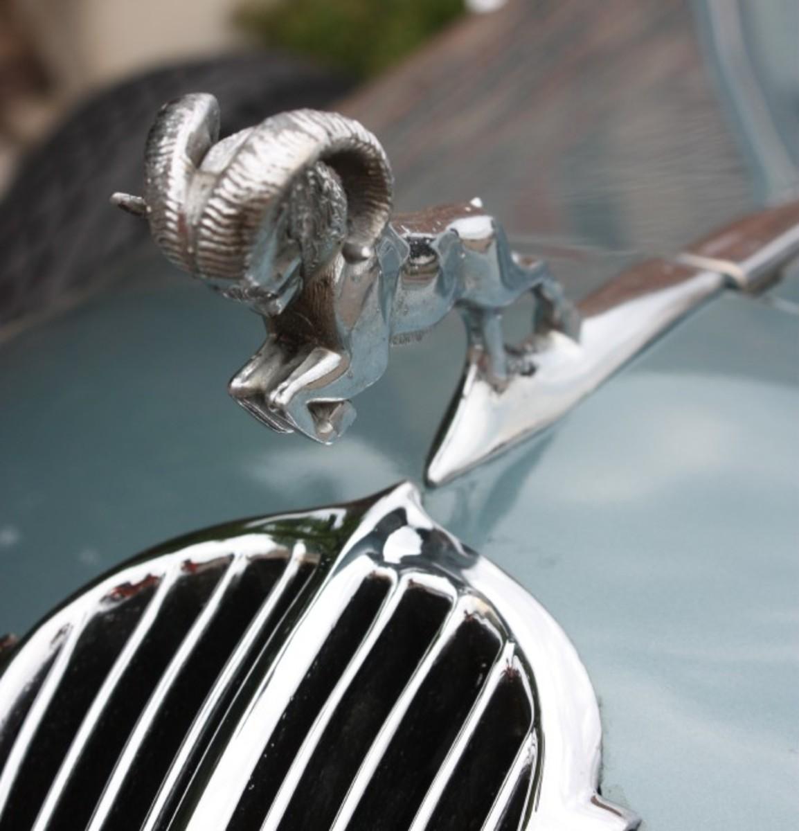 1936 Dodge ornament