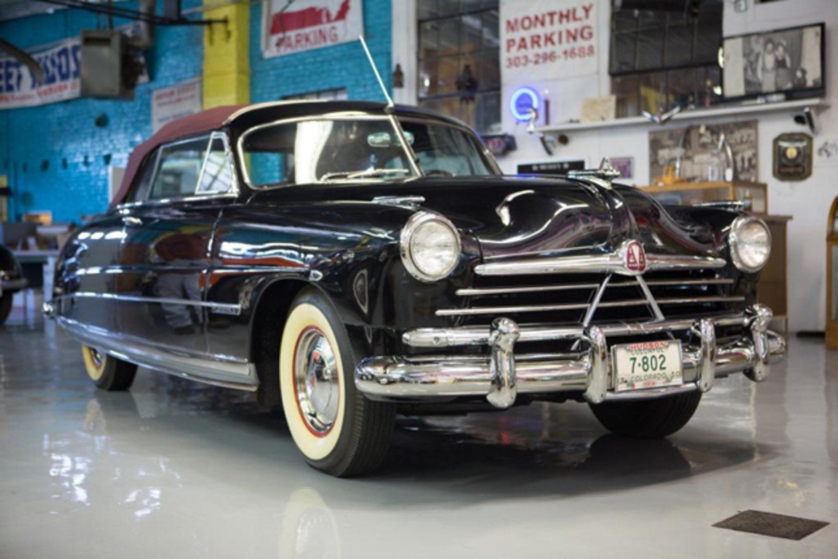 1950 Hudson Commodore 8 Brougham Convertible (John Soneff Collection). Photo Credit: Mark Stevens (c) 2013 courtesy Auctions America