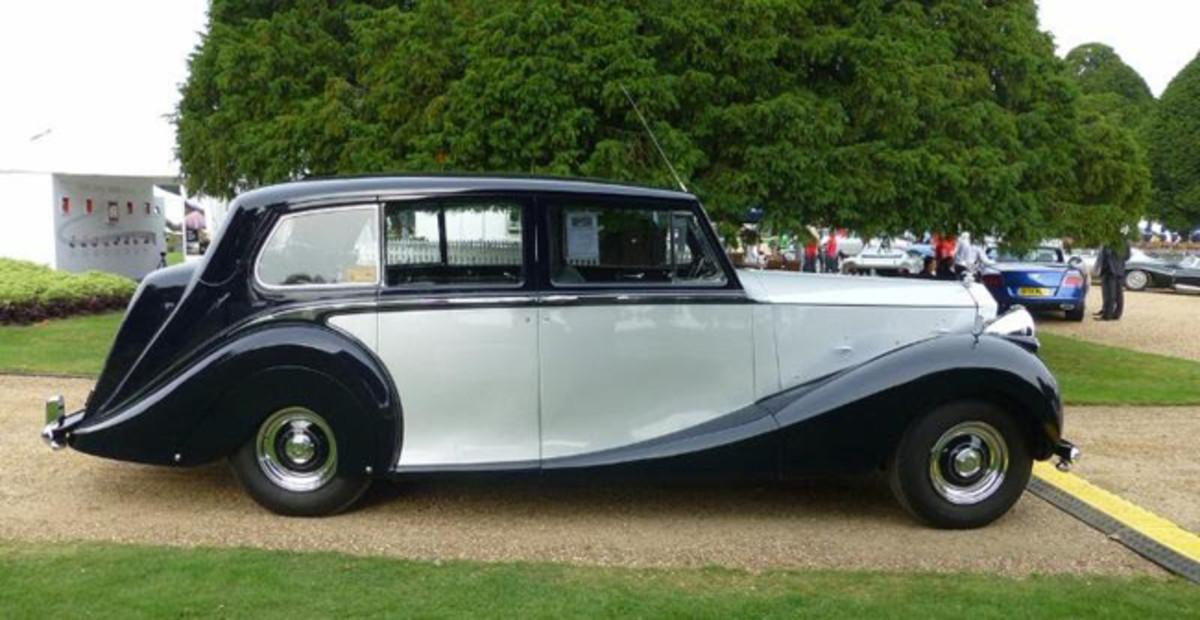 Steven D. Murray's,1953 Rolls Royce Silver Wraith, London, England