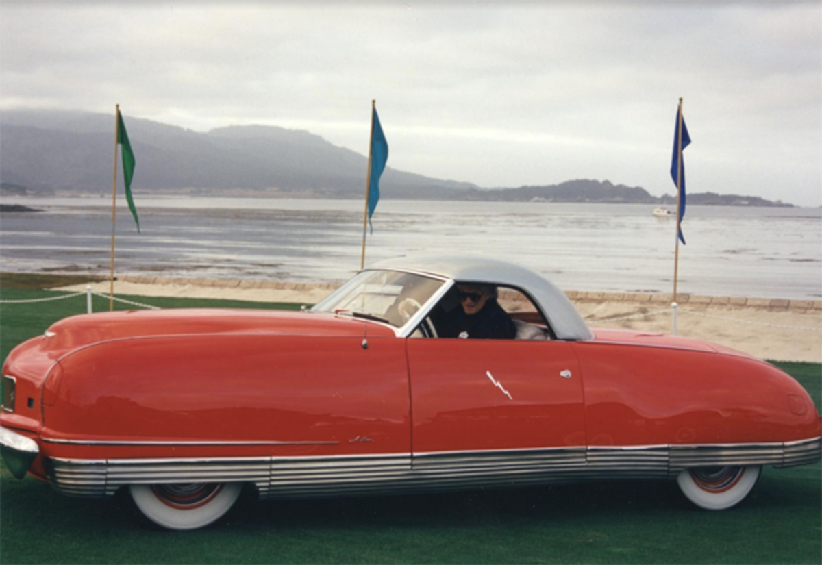 The 1941 Chrysler Thunderbolt at the 1997 Pebble Beach Concours d'Elegance