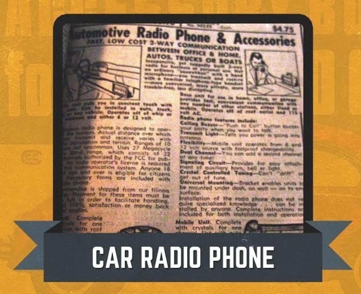 JC Whitney Radio Phone