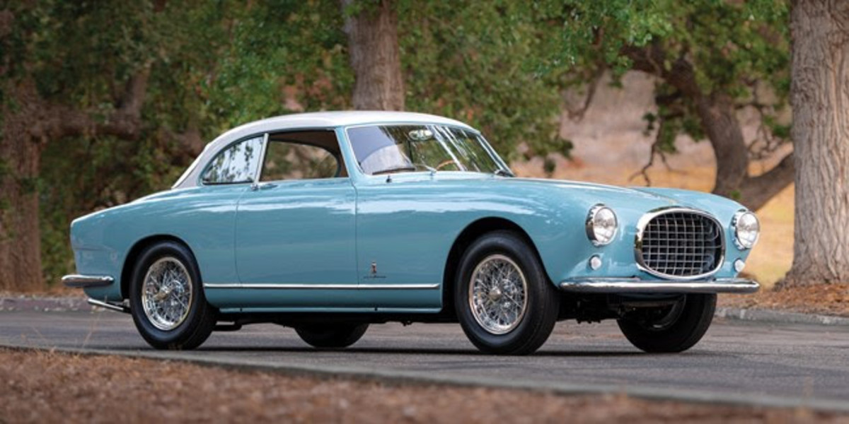 1953 Ferrari 212 Europa Coupé (Est. £810,000 - £1,000,000)Featuring exquisitely beautiful Pinin Farina coachwork on a rare LHD chassis, this car featured in period Ferrari literature. With decades of wonderful known history, the car benefits from a recent $500,000 concours restoration by marque specialists Epifani Restorations, and is Ferrari Classiche certified with original engine, gearbox and bodywork. Accompanied by an owner's manual, factory brochure and tool kit with jack.