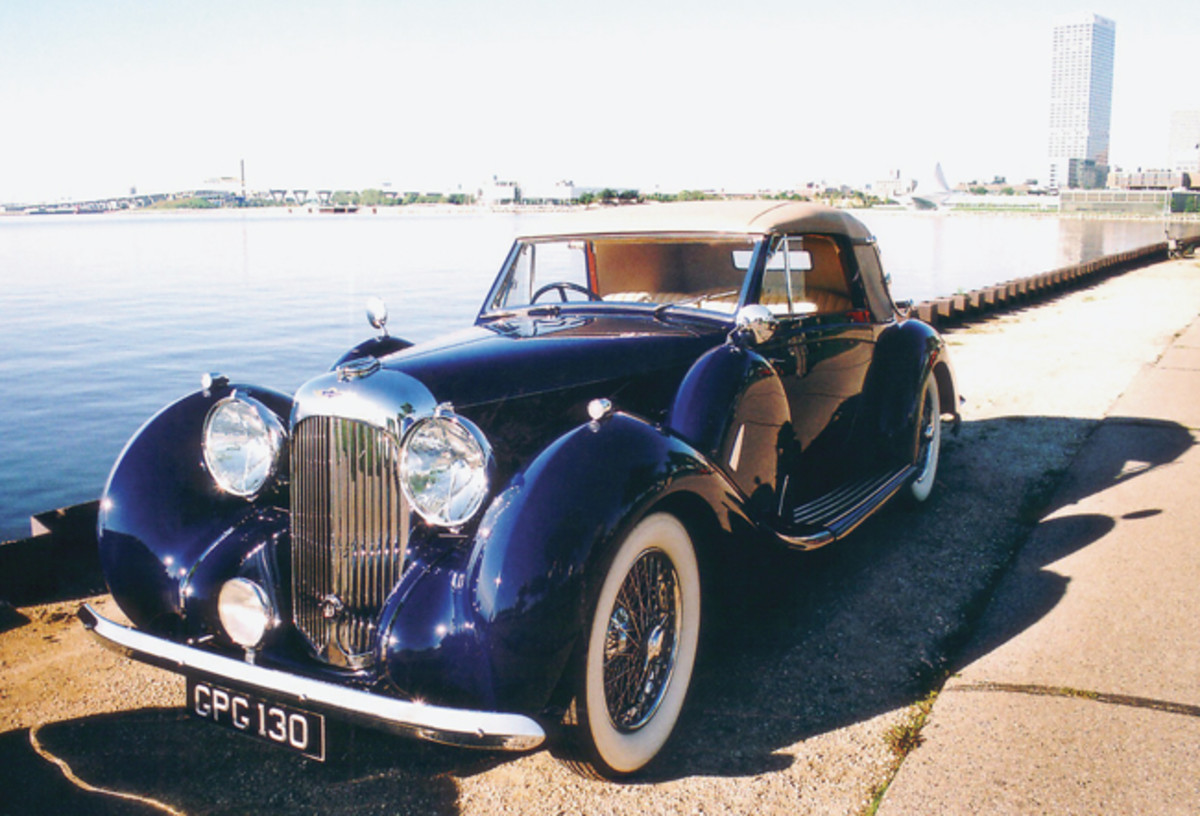 Frederick and Alberta Berndt's 1938 Lagonda V-12 Drophead Coupe was built for a titled nobleman in Como, Italy. Berndt did the mechanical work himself and a talented Canadian restorer handled the cosmetics.