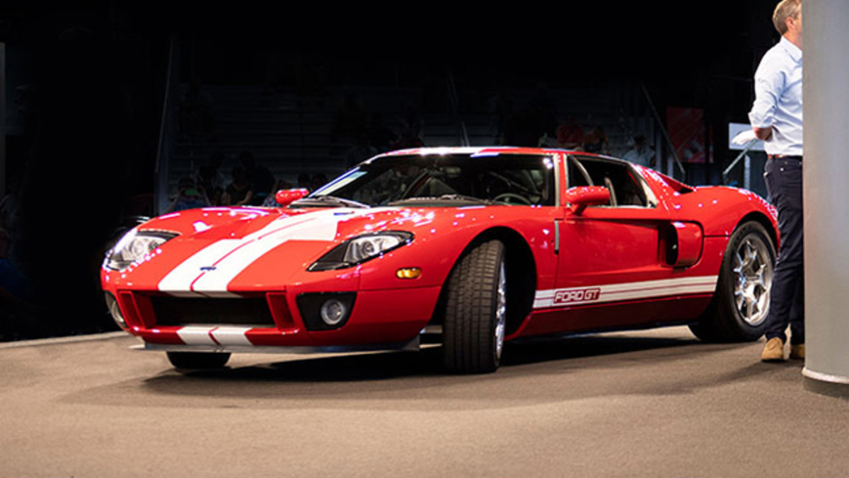 2005 Ford GT sold for $302,500. Photo - RM Auctions