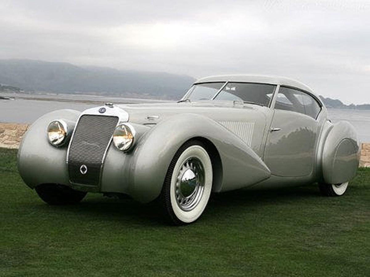 1937 Delage D8-120S Pourtout Coupe