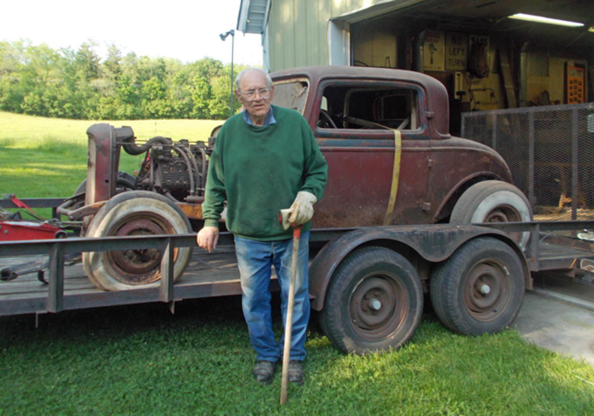 In 2012, builder Francis Fortman said goodbye to the '32 Ford he built in 1954. Fortman never had the urge to start or run the car after it was built for the 1954 World Series of Drag Racing event.