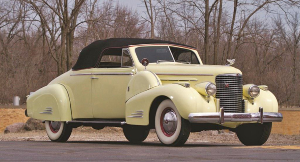 1938 Cadillac V-16 Convertible Coupe. Photo Credit: Teddy Pieper (c) 2013 Courtesy of Auctions America.