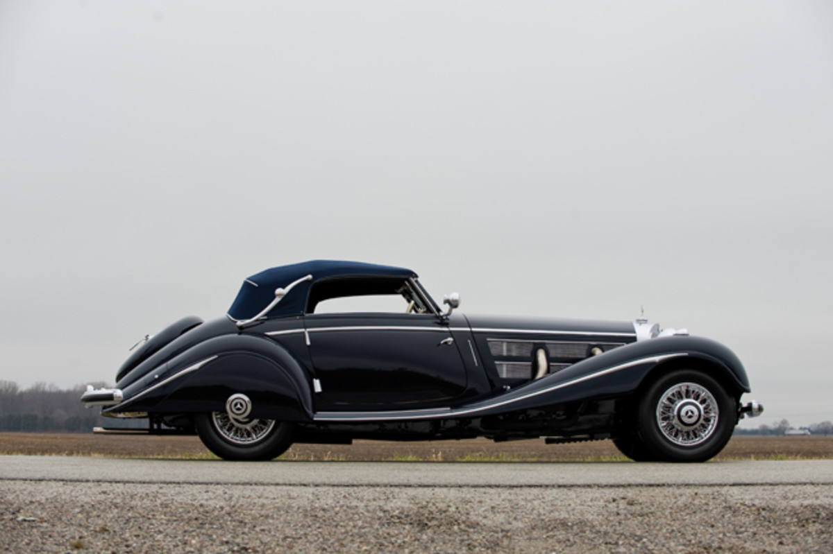 1937 Mercedes-Benz 540 K Cabriolet A (Credit – Darin Schnabel © Courtesy of RM Sotheby's)