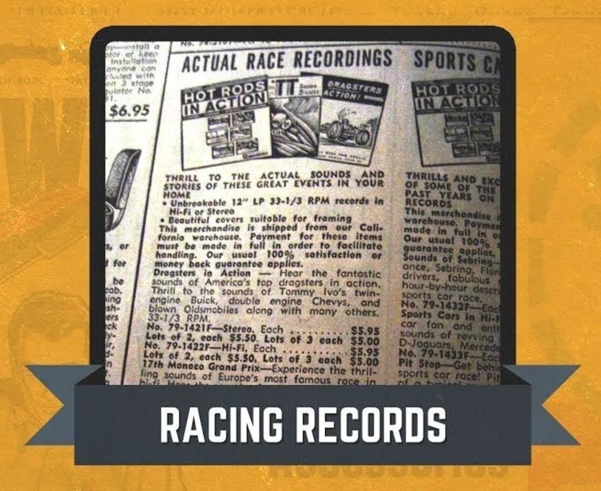 JC Whitney Race Records