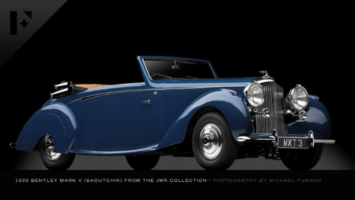This 1939 Bentley Mark V 4.25 Litre from the JWR collection is up for bid in the June 11 Elegance at Hershey auction presented by The Finest Automobile Auctions. Bid online on Proxibid. (PRNewsFoto/Proxibid)