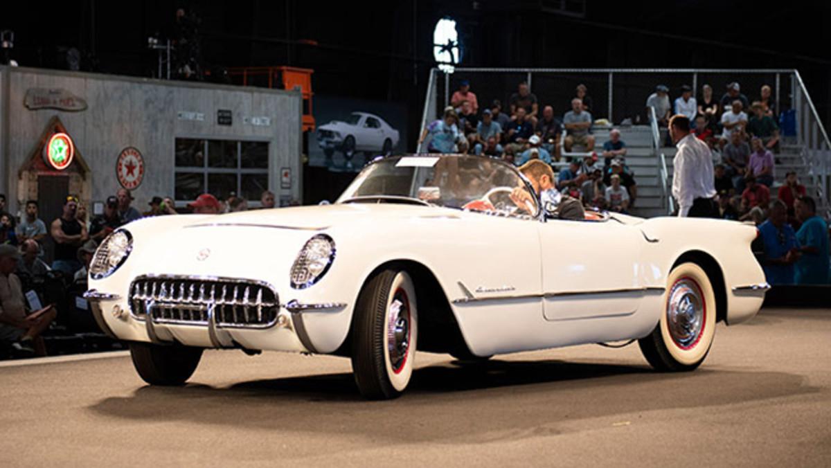 1953 Chevrolet Corvette sold for $148,500. Photo - RM Auctions