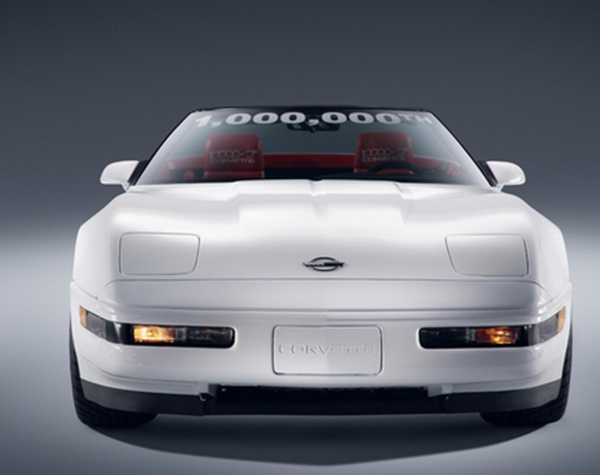 Millionth Corvette Restored