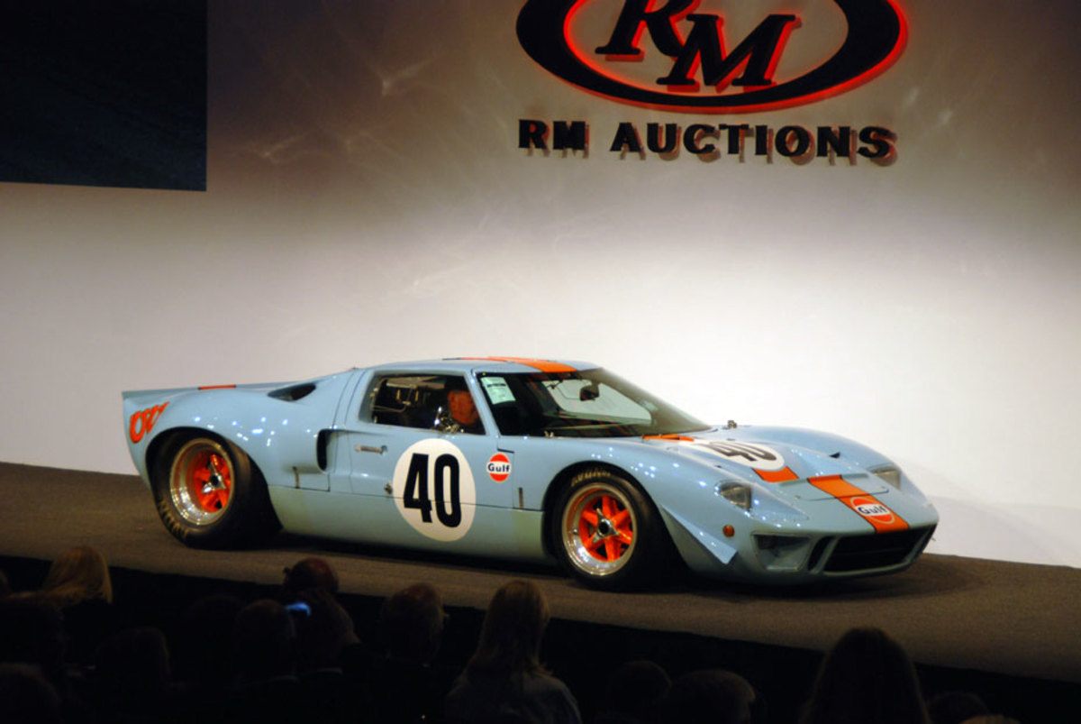 This is what $10 million worth of a Ford GT40 looks like as sold by RM Auctions.