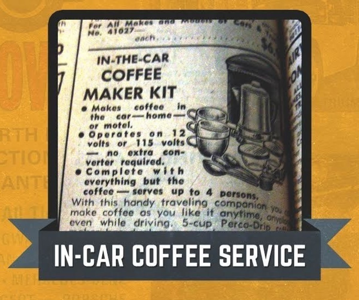 JC Whitney Coffee Maker