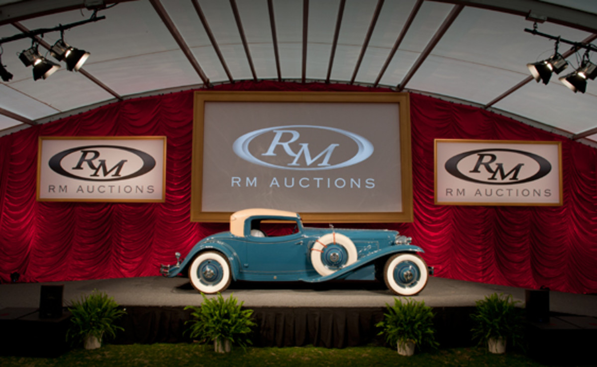 Top-seller: the one-off 1929 Cord L-29 Hayes Coupe (credit: Darin Schnabel © 2012 courtesy RM Auctions)