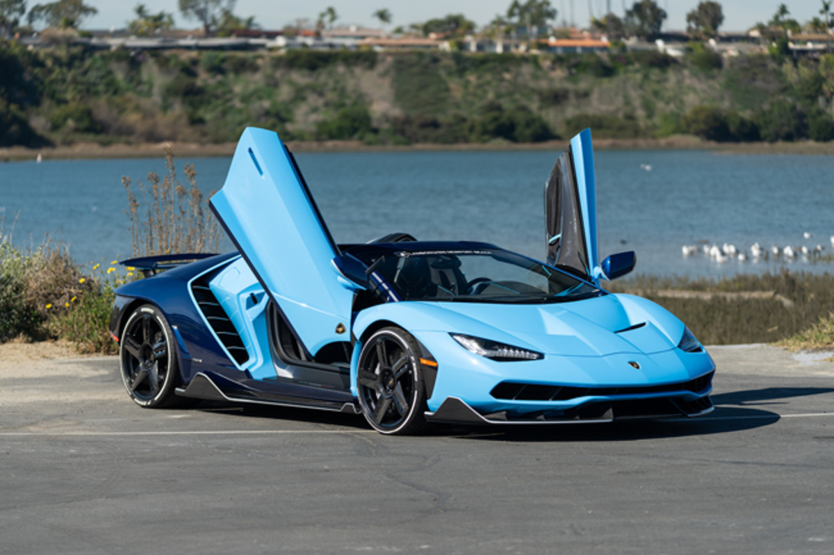 2017 Lamborghini LP 770-4 Centenario Roadster (Estimate: $2,000,000 – $2,500,000). Photo copyright and courtesy of Gooding & Company. Image by Mike Maez.