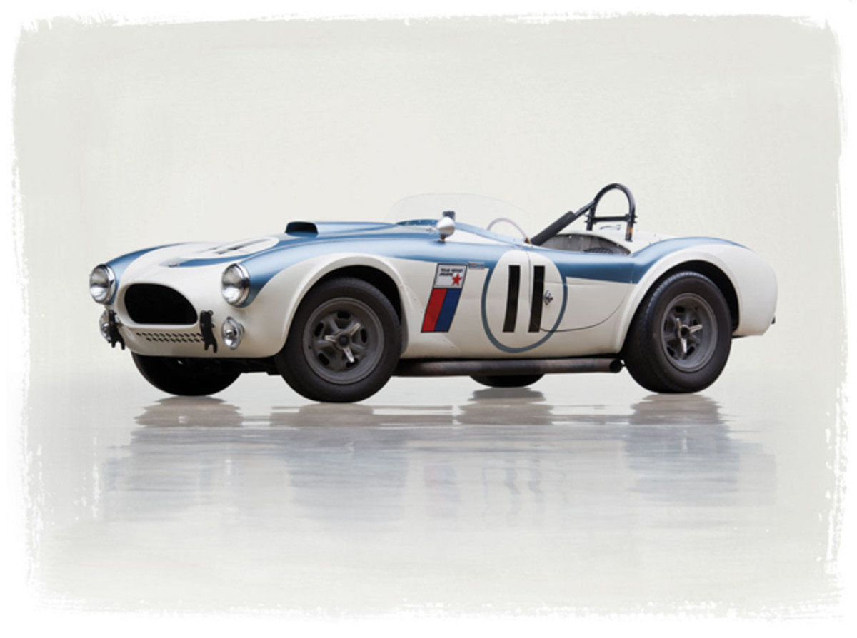 Lot 237: 1962 Shelby 289 Competition Cobra. Without Reserve. Estimate: $2,200,000 - $2,600,000