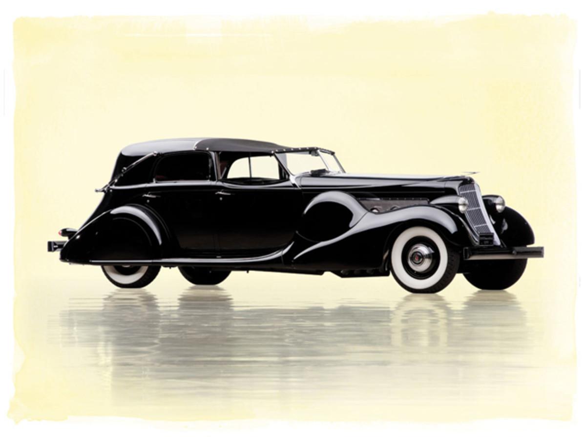 Lot 231: 1935 Duesenberg Model SJ Town Car by Bohman & Schwartz. Without Reserve. Estimate: $3,400,000 - $4,500,000
