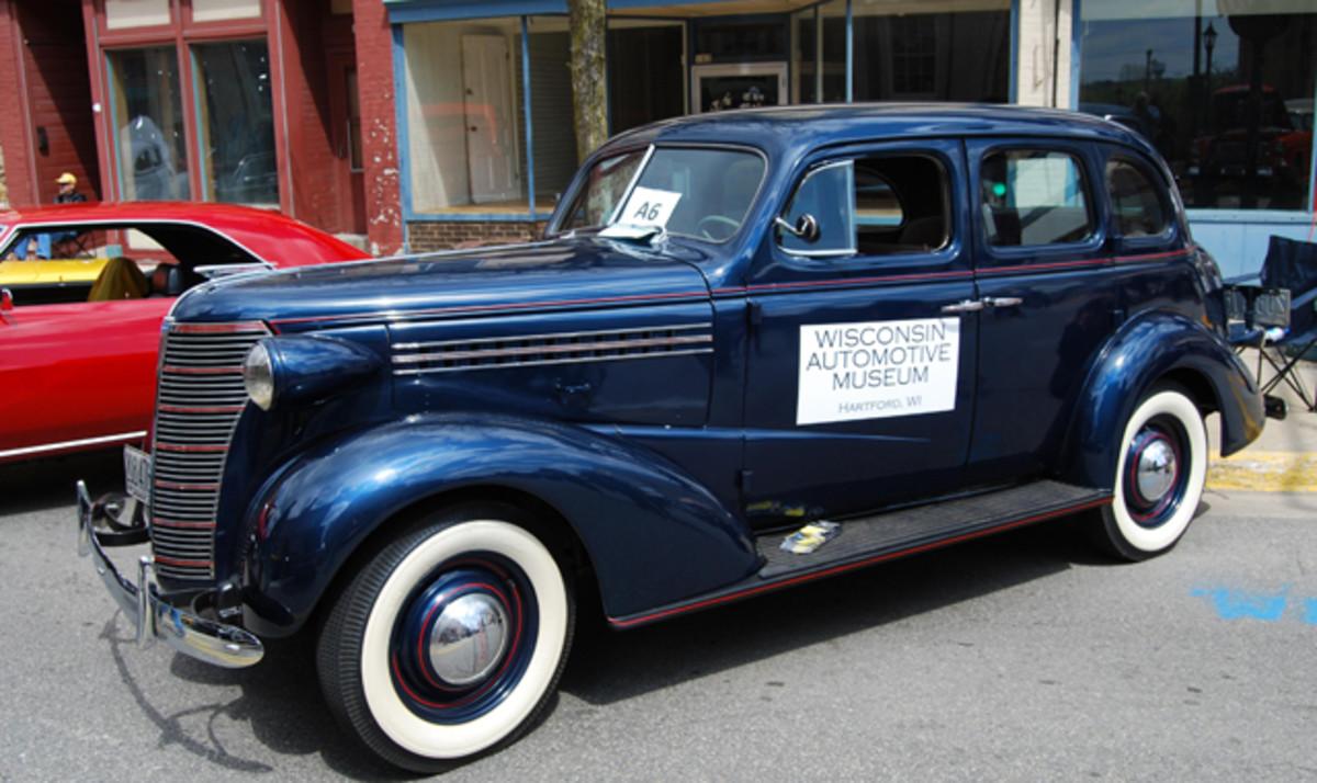 Wisconsin Automobile Museum's 1938 Chevrolet Touring Sedan.