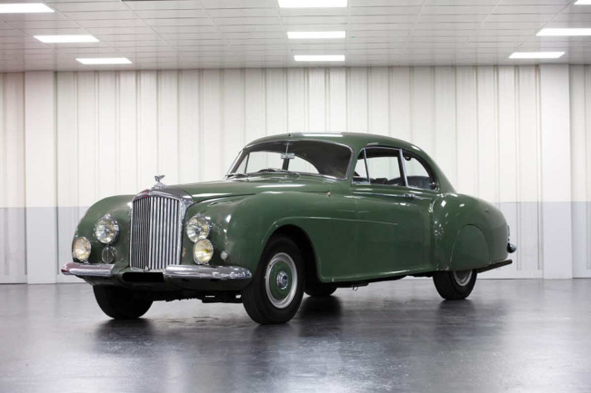 1953 Bentley R-Type Continental Sports Saloon (Credit - Tom Gidden © 2019 Courtesy of RM Sotheby's)