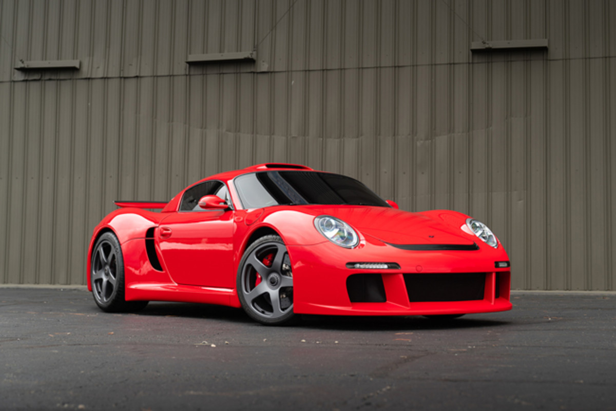 2009 RUF CTR3 (Estimate: $800,000 – $1,000,000).Photo copyright and courtesy of Gooding & Company. Image by Josh Hway.