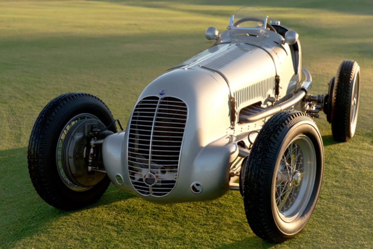 1937 Maserati 6CM (Michael Tobian photo)