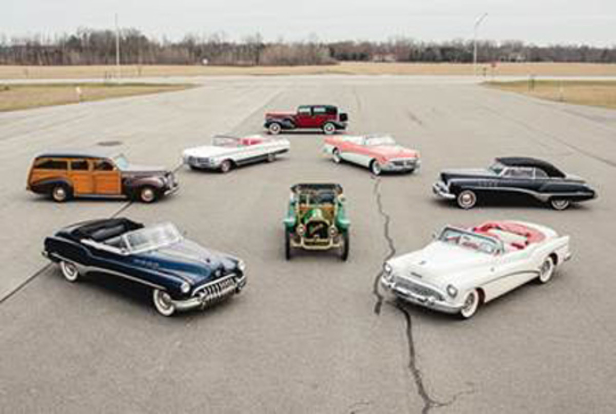 A snapshot of highlights within The Roadmaster Collection (Credit – Teddy Pieper © 2020 Courtesy of RM Sotheby's)