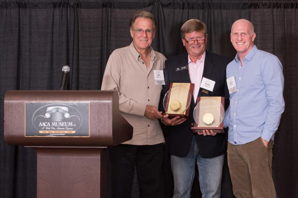Left- Right: Bill Miller, Jr., Hank Hallowell, Lance Miller - Photo credit: Kevin Fischer