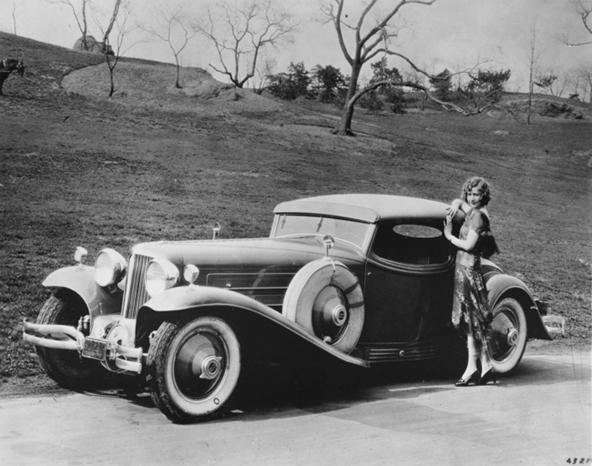 Four bodies were cataloged for the Cord L-29, but some custom bodies were built, including this coupe by Hayes.