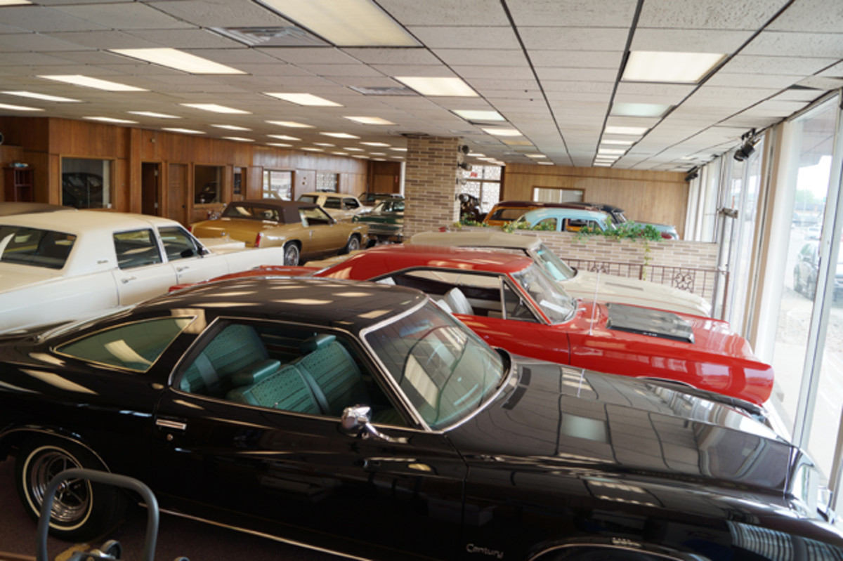 A look inside Lichty's own collector-car dealership called Motorcar Portfoliolocated in Canton, Ohio.