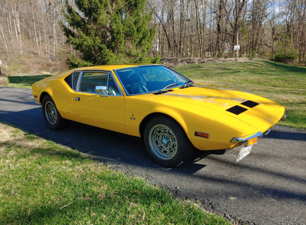Jay Bernstein's 1972 Pantera is an unmolested original with 80,000-plus miles on the odometer.
