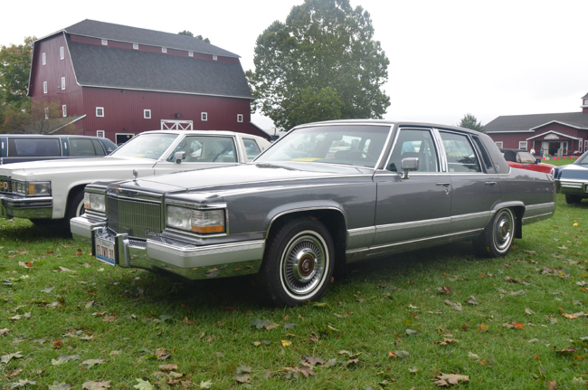 Museum and CLC supporter Ron Schweitzer brought his 1991 Cadillac Brougham to the CLCMRC Fall Festival's display-only area.