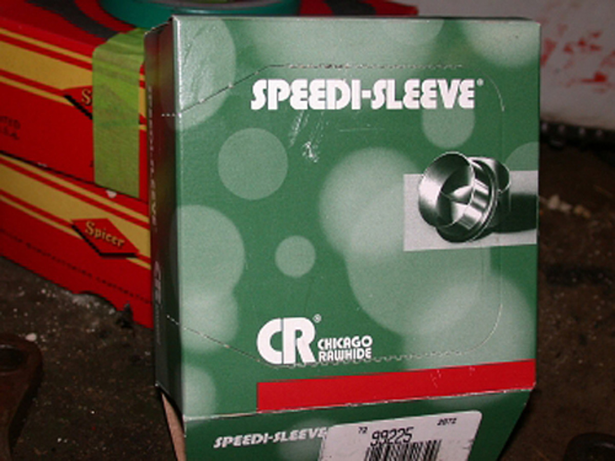 Most bearing specialty shops carry this repair part, priced in the neighborhood of $35.
