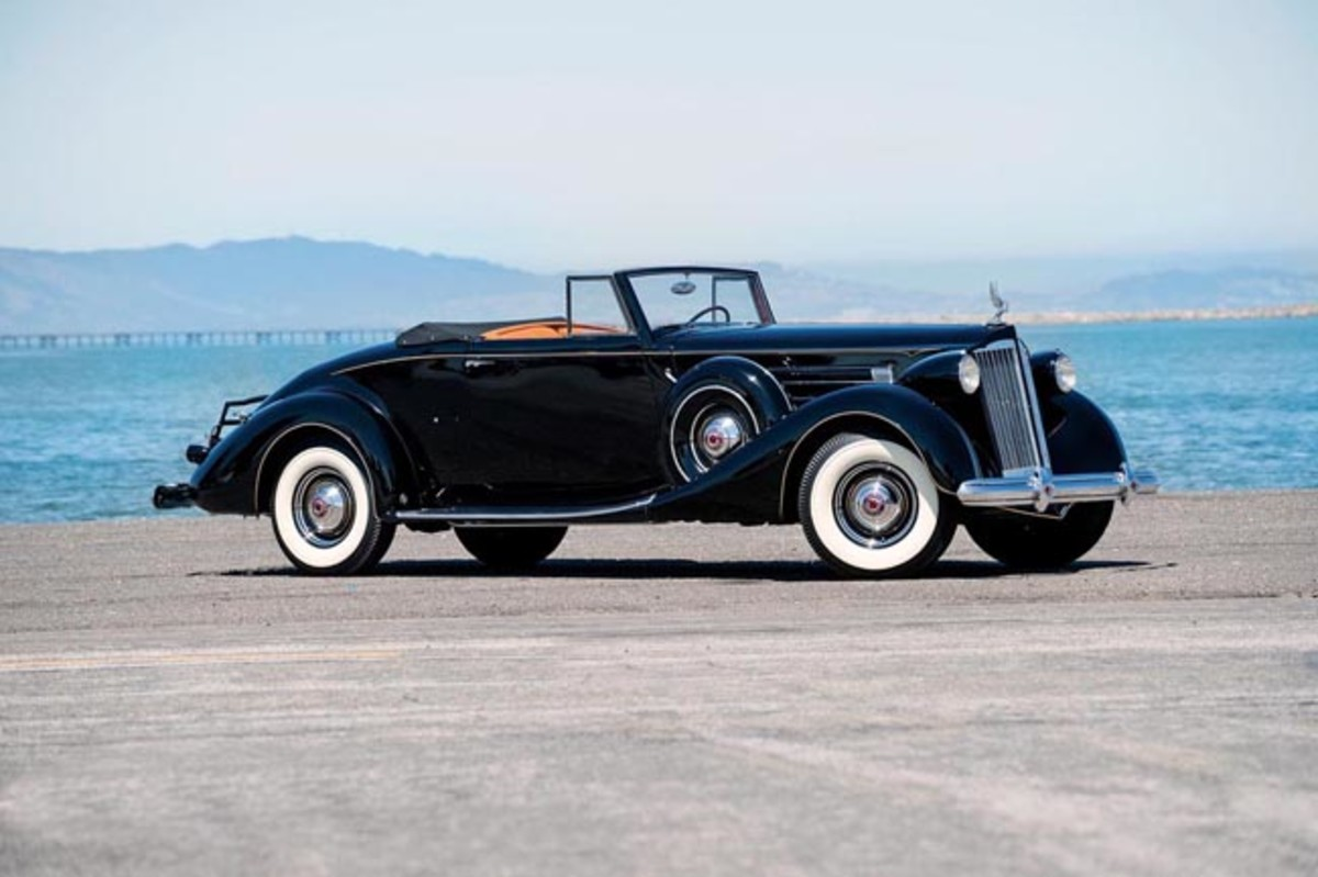 1937 Packard 1507 Twelve Coupe Roadster