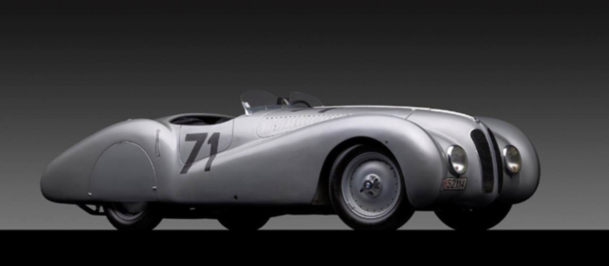 A super-rare 1937 BMW 328 MM Bugelfalte will celebrate BMW's 100th anniversary at the Greenwich Concours International. Photo credit: Michael Furman (PRNewsFoto/Greenwich Concours d'Elegance)