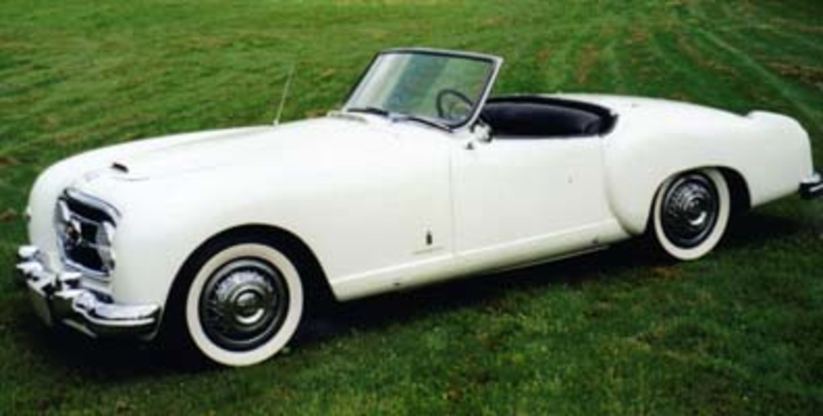 The Nash-Healey was the first postwar American sports cars made by a major automaker. It beat the Corvette, Kaiser-Darrin and Thunderbird to market.