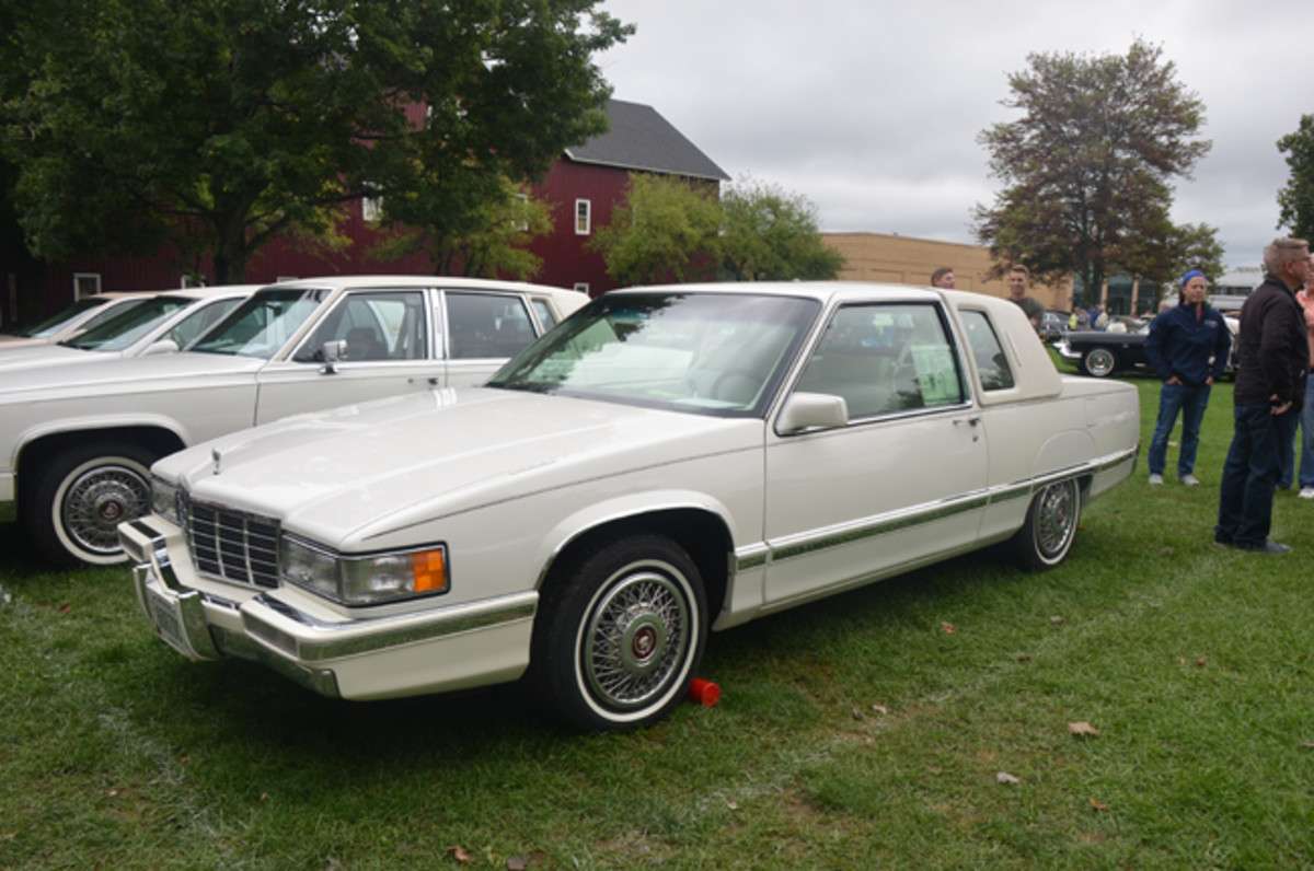 The last year a Fleetwood coupe was offered was 1992, the year this 33,000-mile survivor hails from. That year, just 291 Fleetwood coupes were built.