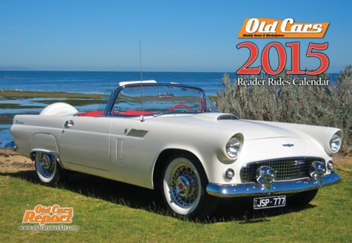 2015 Old Cars Weekly Reader Rides calendar.