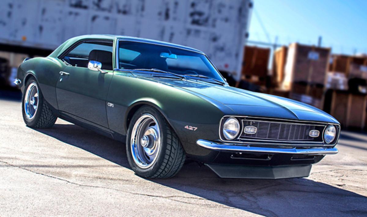 Tim Allen's Smokey Yunick-inspired 1968 Camaro, built by Bodie Stroud.