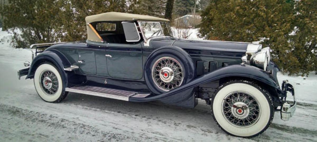 1932 Packard Super 8 Dual Cowl Phaeton