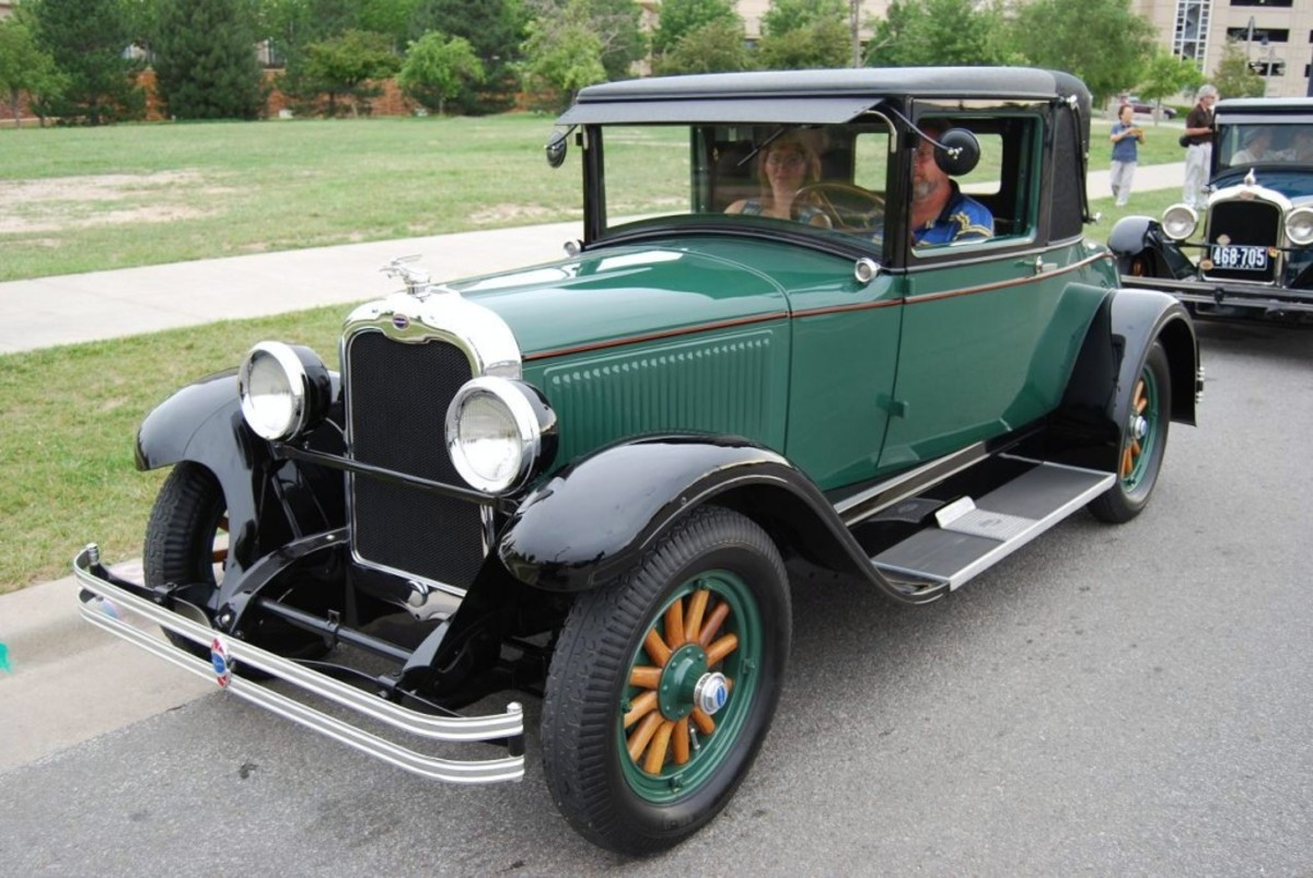 This 1928 Oakland All American Six coupe was a good fit for the All-American theme, but all collector cars and collectible motorcycles are welcome.