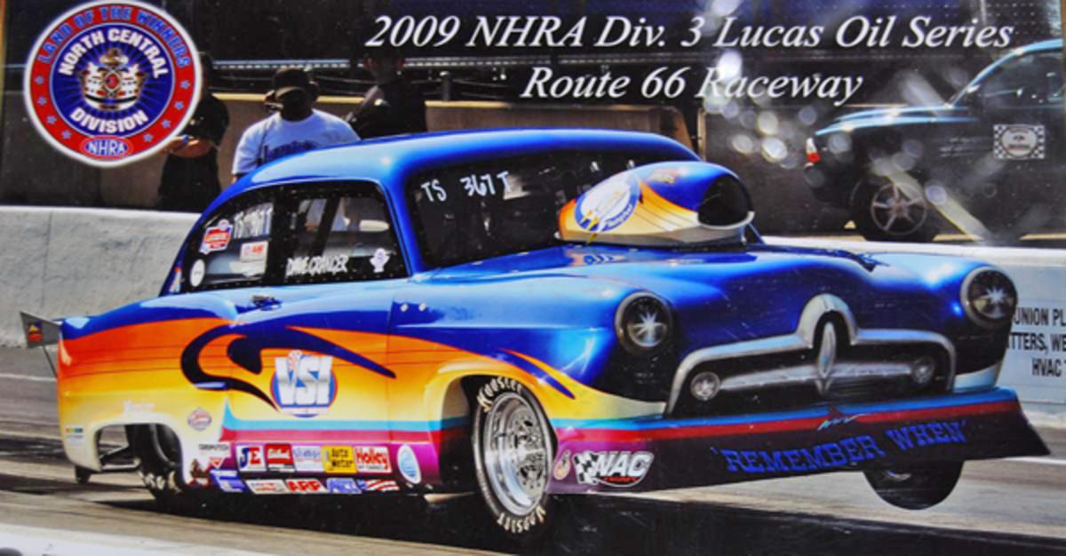 Here's Dave Granger's Henry J racer.