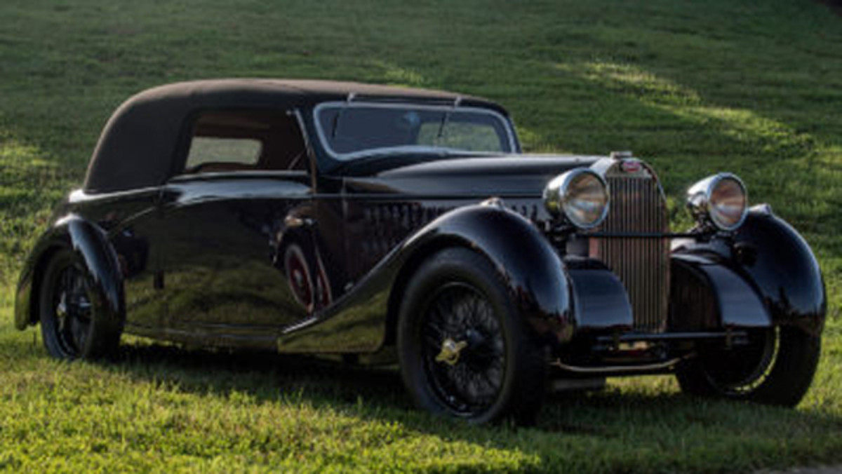 Best of Show - 1935 Bugatti Type 57 Coupe