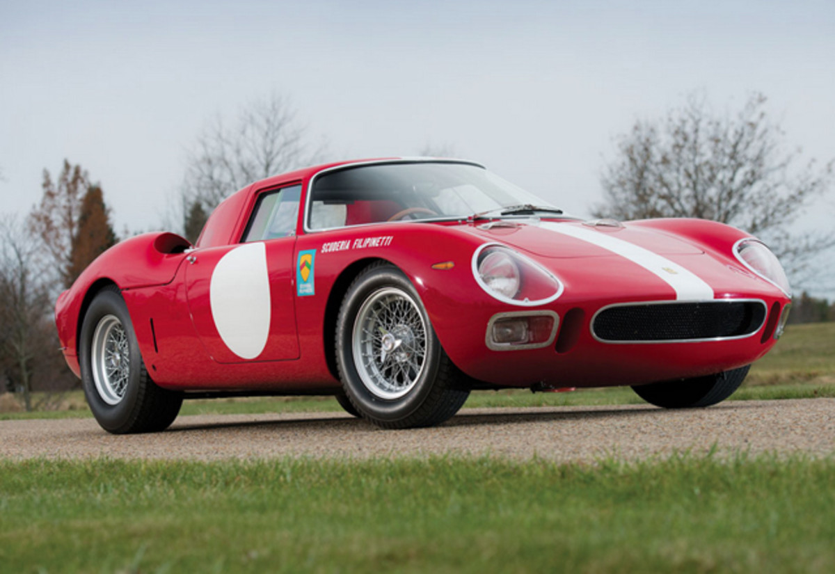 Arizona's top lot honors go to RM Auctions and this 1964 Ferrari 250 LM by Scaglietti, which sold for $9,625,000.