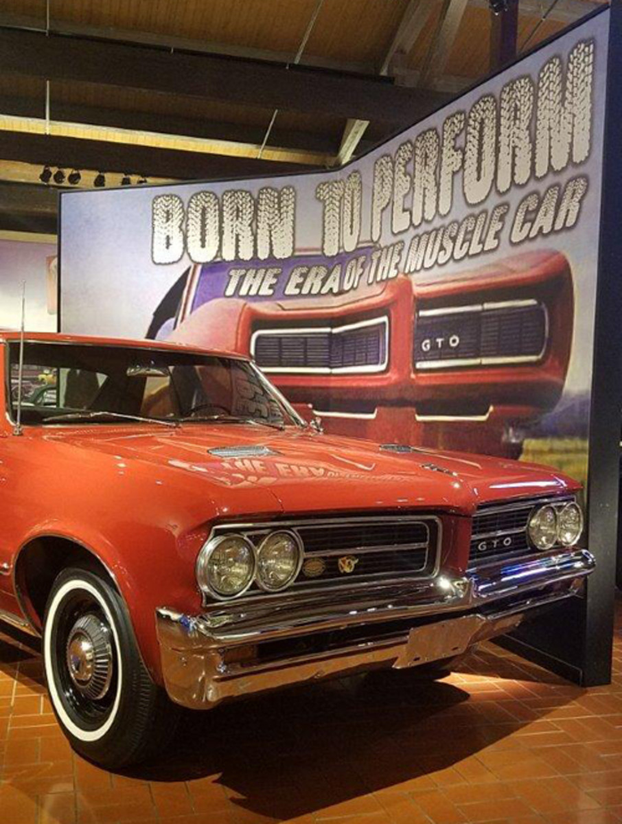 """Many consider John Delorean, the maverick General Motors engineer, as the """"father"""" of the muscle car era when he created the high-performance 1964 Pontiac GTO."""