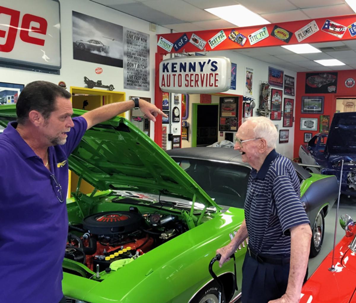 Ken Mosier and Harry Donovan A1