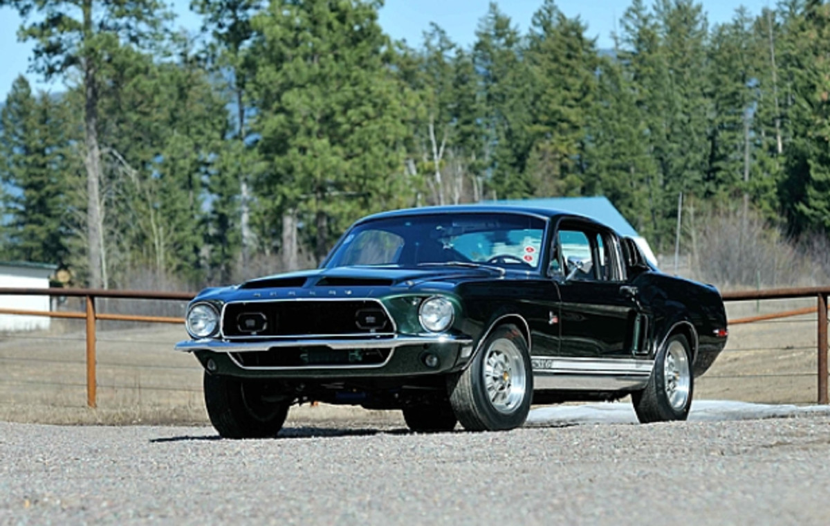 Lot S95: 1968 Shelby GT500KR Fastback. 12,160 Miles, 10 MCA Thoroughbred Gold Awards