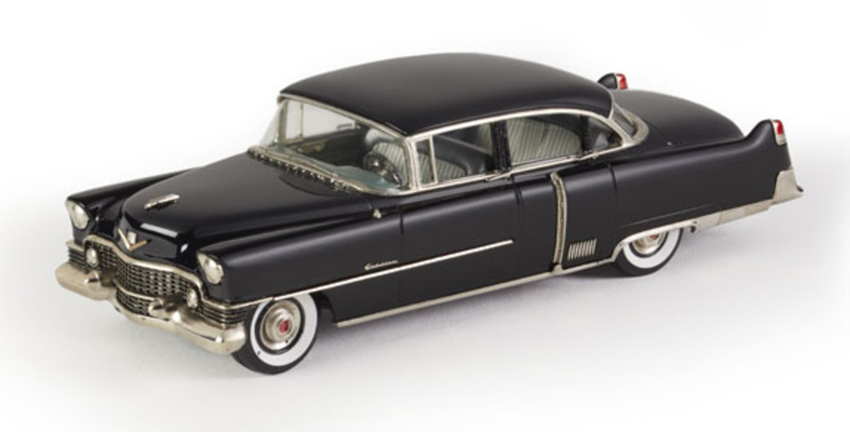 Brooklin's new 1954 Cadillac Fleetwood Sixty Special.