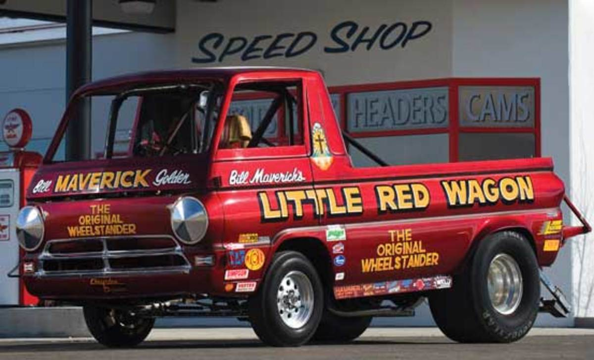 Little Red Wagon Wheels In 550 000 Old Cars Weekly